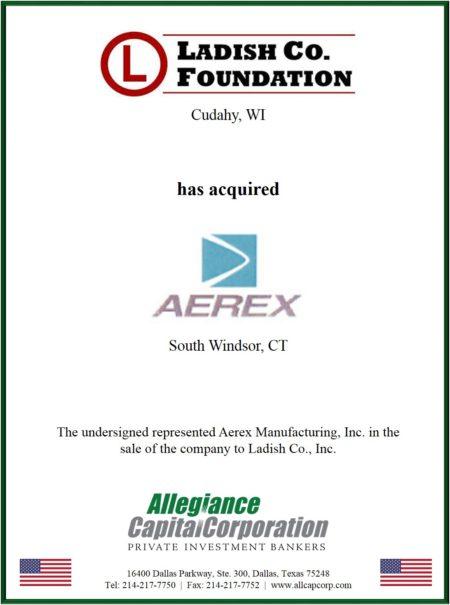 Aerex Manufacturing, Inc.
