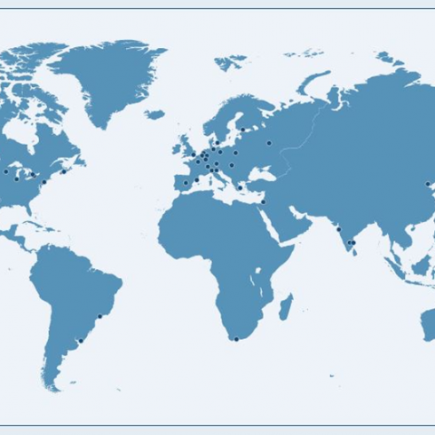 Globalscope partners map