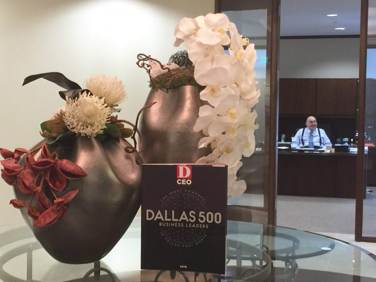 David Mahmood honored in D-CEO's Top 500 Most Powerful Dallas Business Leaders for Investment Banking.