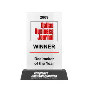 Dallas Business Journal Dealmaker of the Year 2009 Awards