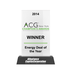 ACG Champions Energy Deal of the Year 2014 Awards