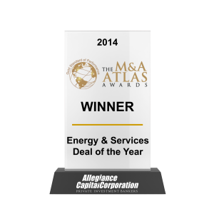 M&A Atlas Energy Services Deal of the Year 2014 Awards