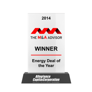 M&A Advisor Energy Deal of the Year 2014 Awards