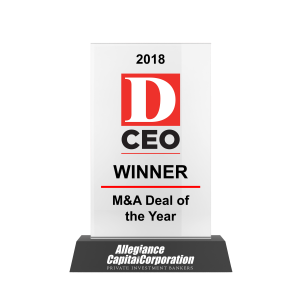 DCEO M&A Deal of the Year 2018 Awards
