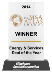 2014 The M&A Atlas Awards Winner