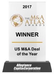 2017 The M&A Atlas Award Winner