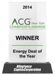 2014 ACG Champion's Awards Winner