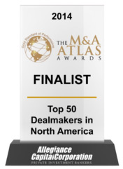 2014 The M&A Atlas Awards Finalist