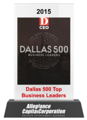 2015 Dallas 500 Top Business Leaders
