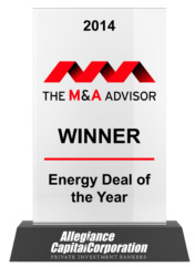 2014 The M&A Advisor Winner