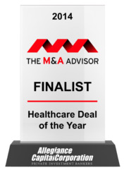 2014 The M&A Advisor Finalist
